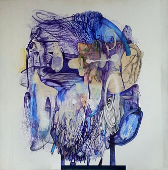 Jacques Cournoyer - Tête bleue